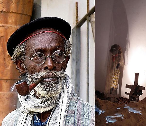 Issa Samb:Joe Ouakam Photo © Ibrahima Th