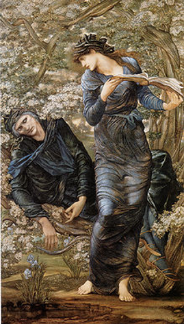 E. Burne-Jones,  The Beguiling of Merlin