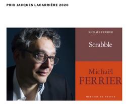 Scrabble, Prix Jacques Lacarrière 2020