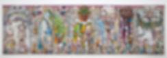 Takashi_Murakami,_Arhat,_2013,Blum&Poe,L