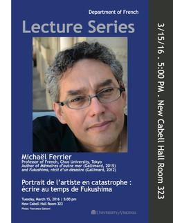 M. Ferrier at Univ. of Virginia