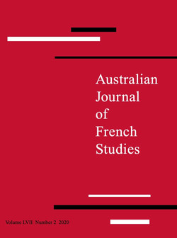 Australian Journal of French Studies, vol. 57, 2020