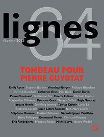 Lignes, Tombeau pour Pierre Guyotat, 202