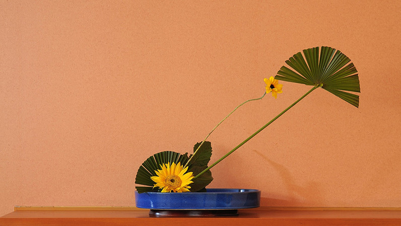 Ikebana d'hiver