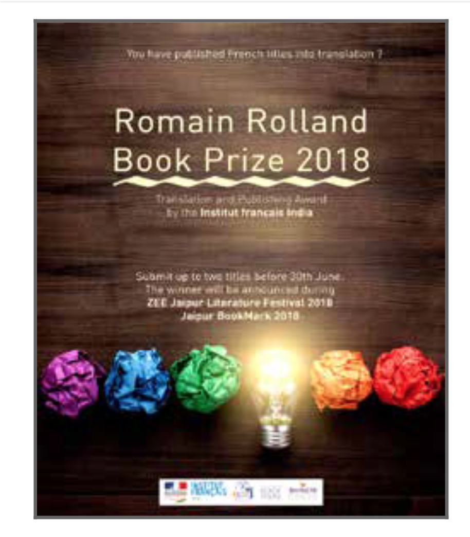 Romain Rolland Book Prize 2018