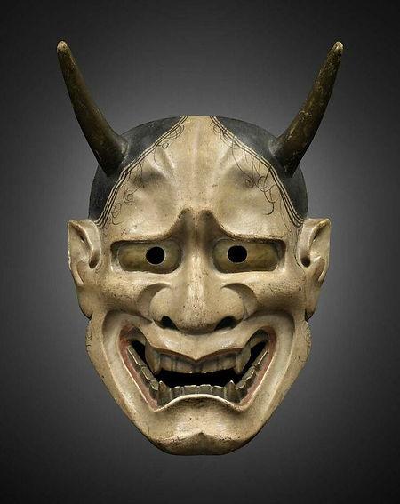Masque de nô de Hannya, époque Edo (17e