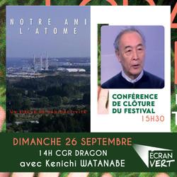 """Festival Ecran Vert : """"Notre ami l'Atome"""""""