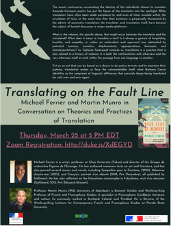 Translating on the Fault Line