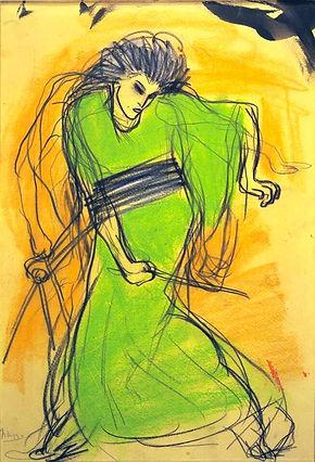 La-danseuse-Sada-Yacco-Pablo-Picasso, 19