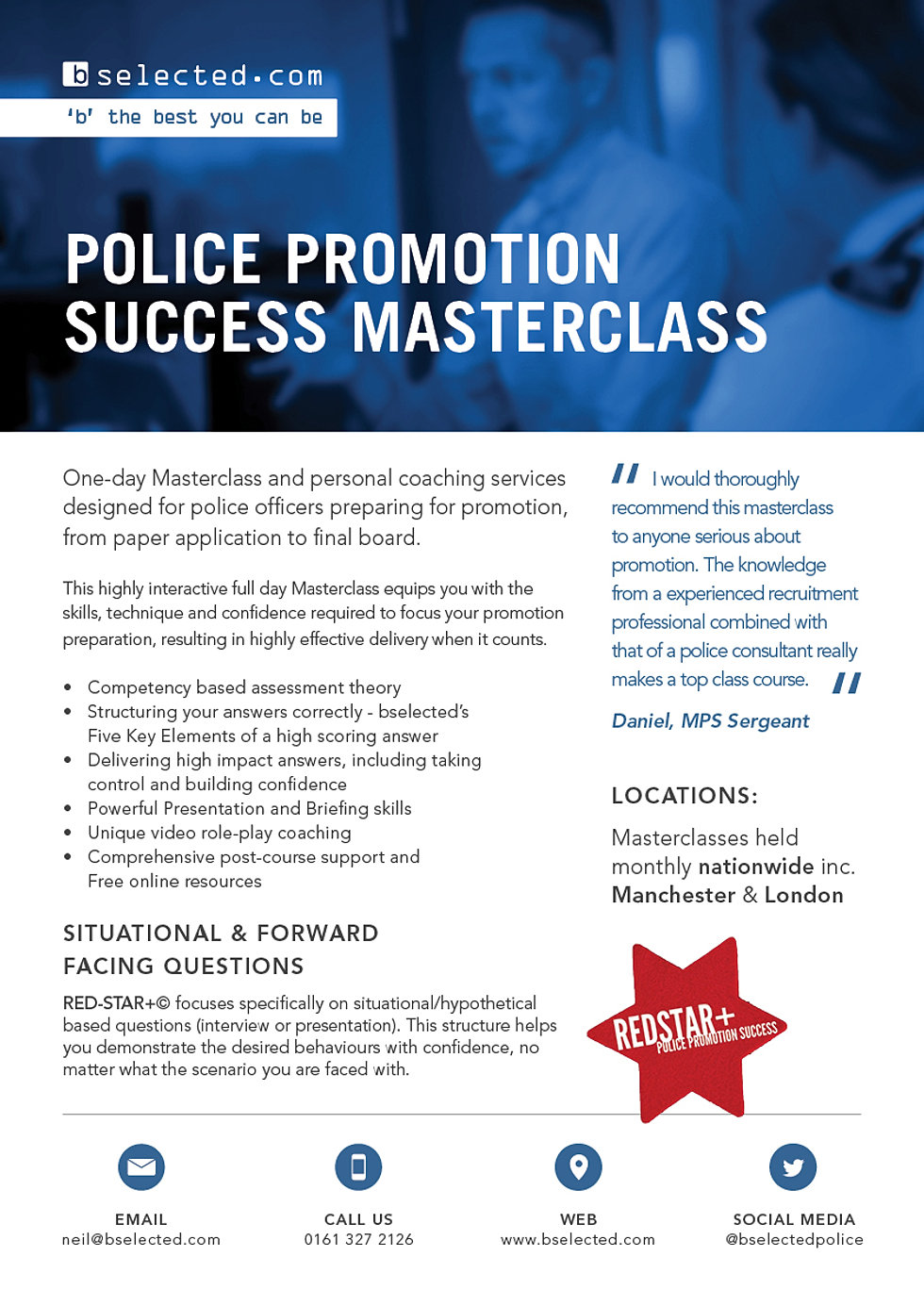 pocketsgt bselected police promotion framework