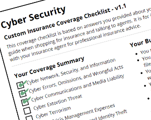 Cyber Insurance: The Basics of Coverage