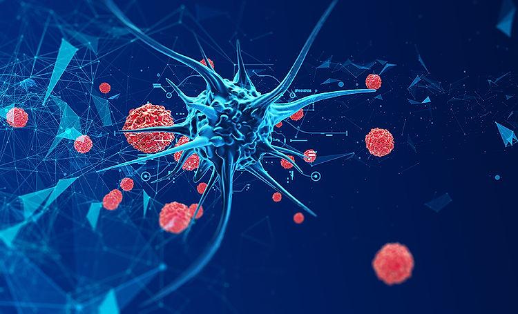 bigstock--d-Render-Biological-Cell-Viru-