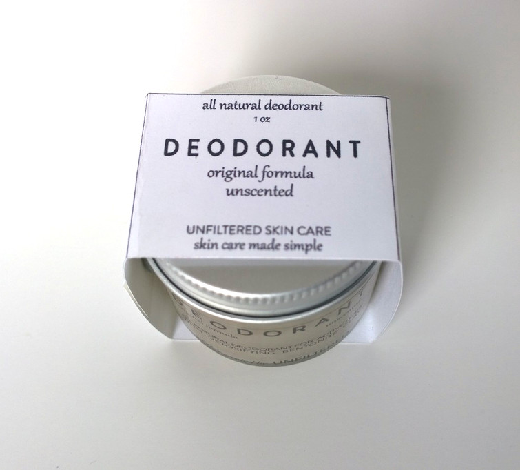 DEODORANT ORIGINAL UNSCENTED