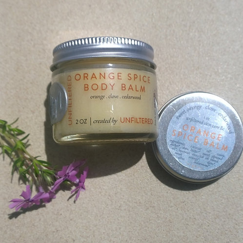Orange Spice Body Balm