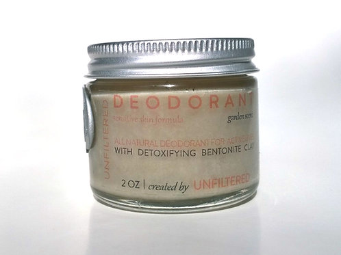 Deodorant - Sensitive, Garden 2oz or 1oz