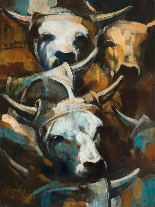 "12"" x 9"" Oil on Canvas Available: $775"
