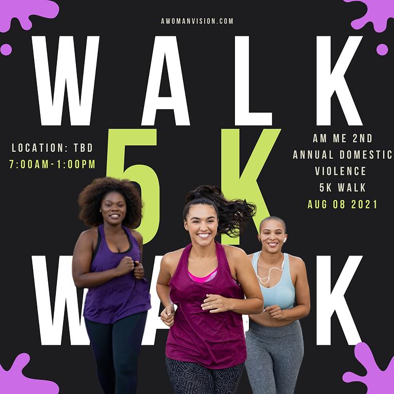 2nd Annual Domestic Violence 5k Walk