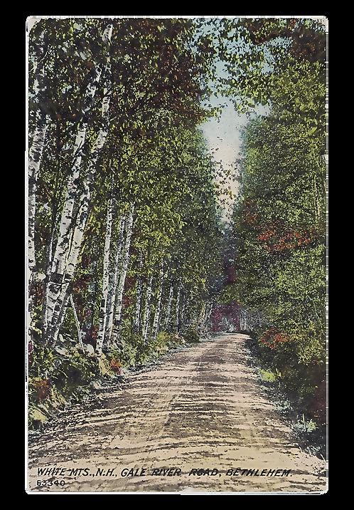 Framed Postcard of Bethlehem, NH