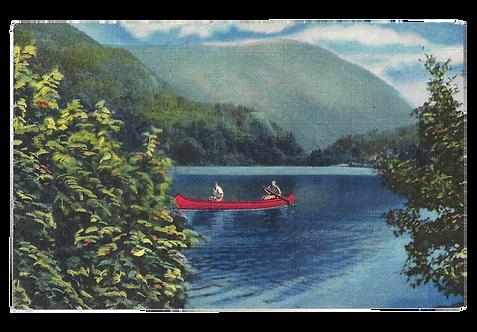 Framed Postcard of Ammonoosuc, NH