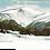 Thumbnail: Framed Postcard: Mt. Washington in Winter NH