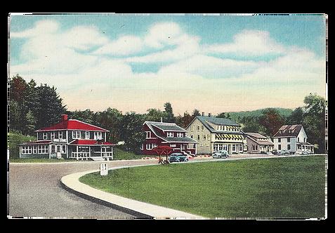 Framed Postcard: Jackson, NH
