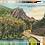 Thumbnail: Framed Postcard of Dixville Notch, NH