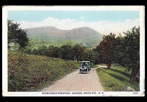 Framed Postcard: Doublehead Mountain, NH