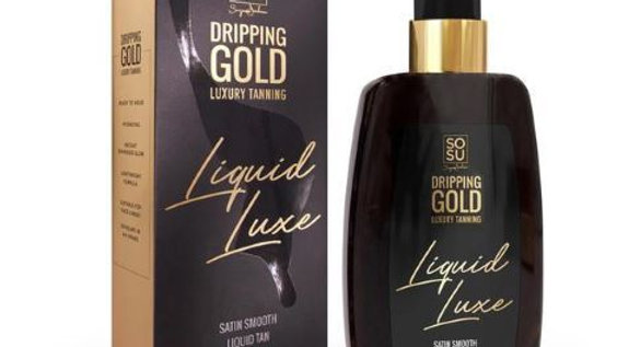 SoSu Dripping Gold Liquid Luxe Tan Dark