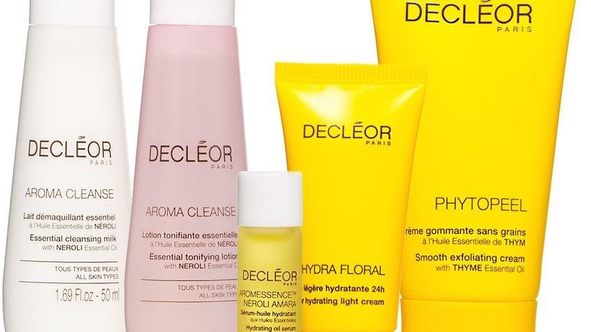 Decléor 5pc Aroma Hydrating Discovery Kit Travel Gift Set