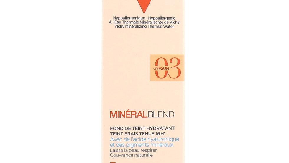 Vichy Minéralblend 16HR Hold Fresh Complexion Foundation 30ml 03 Gypsum