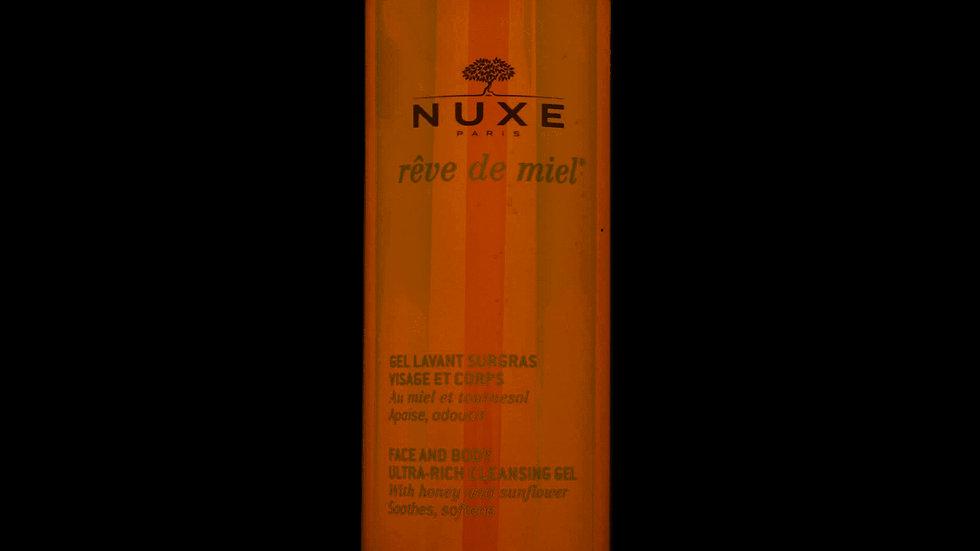 NUXE Reve De Miel Ultra-Rich Cleansing Face & Body Gel 400ML