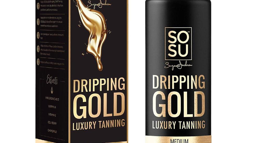 SOSU Dripping Gold Luxury Tanning Lotion Medium