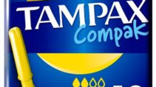 Tampax Compak Regular Applicator Tampons 18