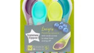 Tommee Tippee Explora Feeding Spoons X5