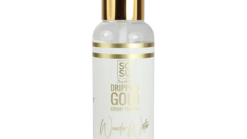 SOSU Dripping Gold Wonder Water Self Tanning Face Mist Light - Medium