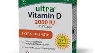 Vitabiotics Ultra Vitamin D 2000IU Extra Strength 96 Tablets
