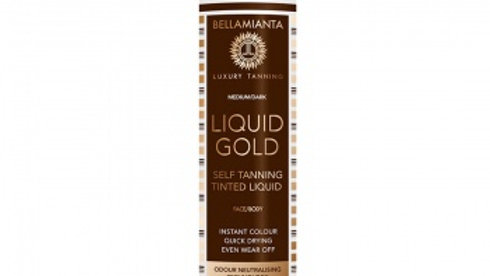 Bellamianta Liquid Gold Self-Tanning Tinted Liquid