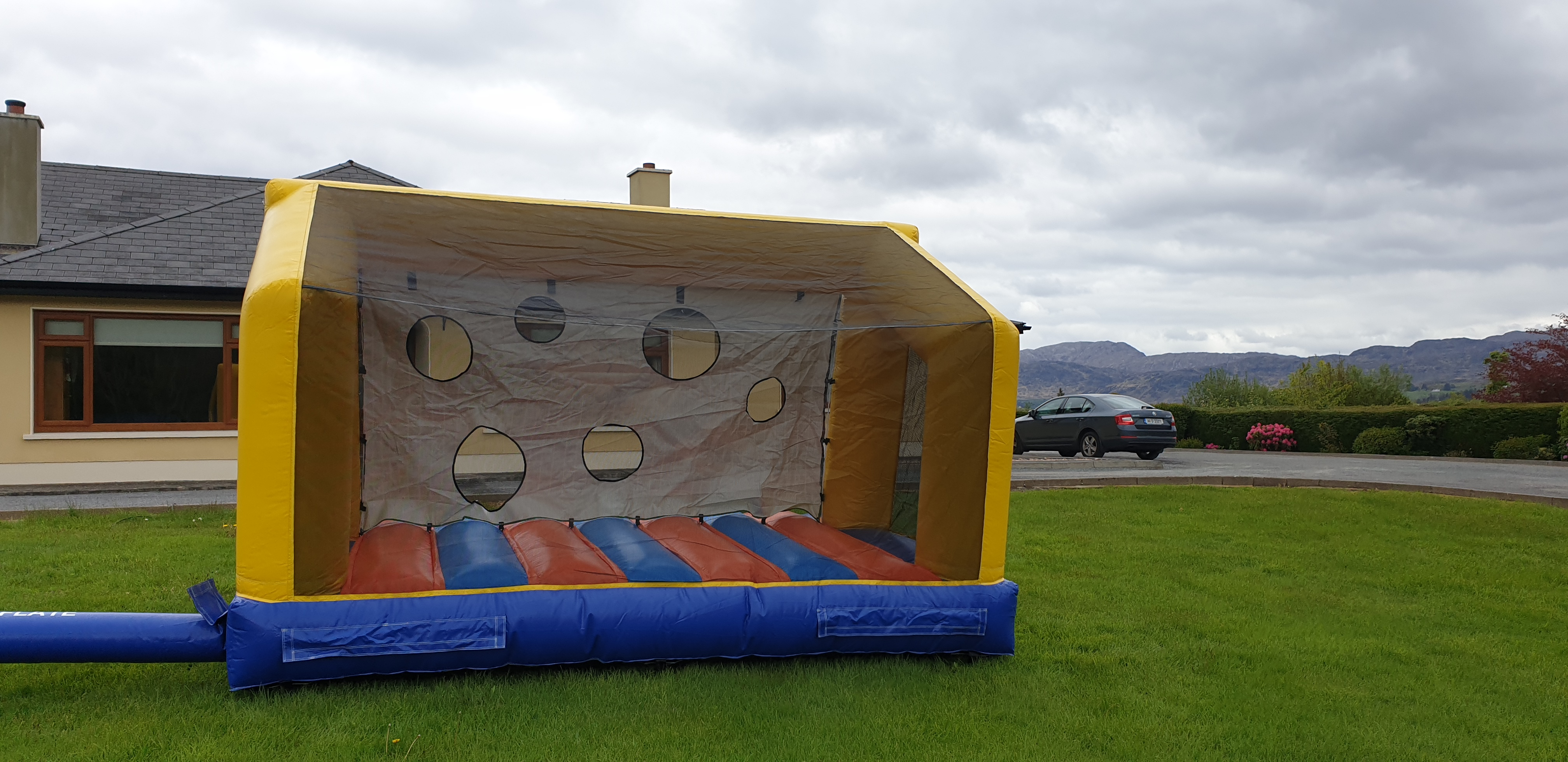 Inflatable Soccer Goals Sligo Bouncy Cas
