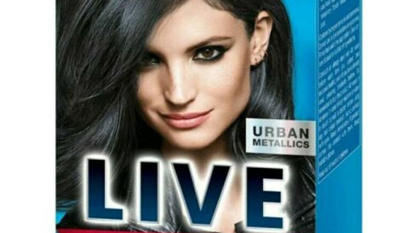 Schwarzkopf Live Urban Metallics Hair Colour - U73 Smokey Steel