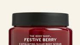 The Body Shop Festive Berry Exfoliating Sugar Body Scrub
