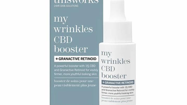 this works my wrinkles CBD booster + GRANACTIVE RETINOID