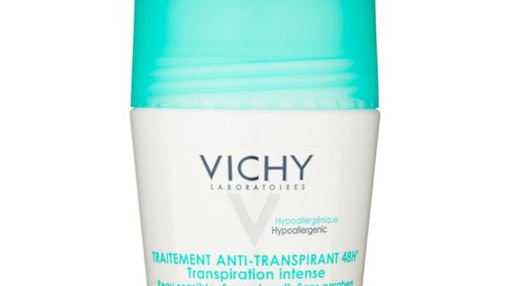 Vichy Deodorant 48 Hour Intensive Anti-Perspirant Roll On Sensitive50ml