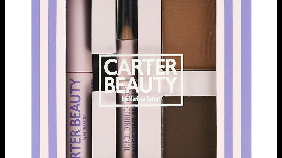 Carter Beauty Window Dressing Brow Kit - Medium-Dark