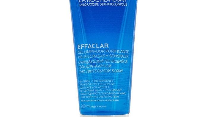 La Roche-Posay Effaclar Purifying Foaming Gel  For Oily Sensitive Skin200ml