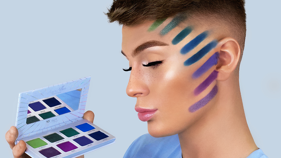 SOSU C.L.E Makeup - Azure Allure