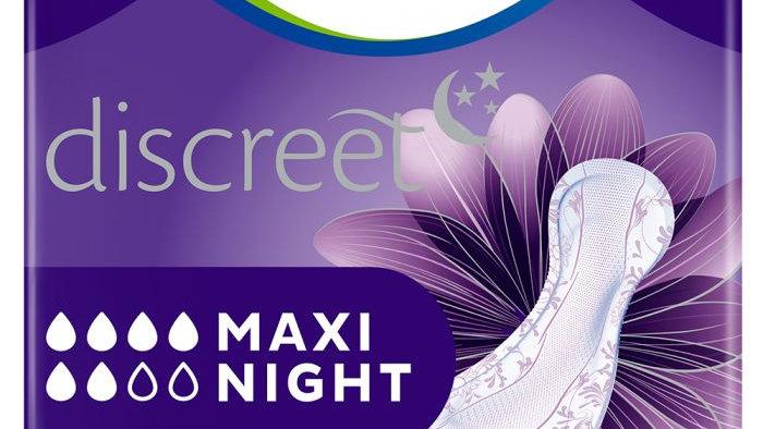 TENA Discreet Maxi Night - Pack of 6