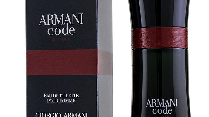 Armani Code A-List EDT 50ml