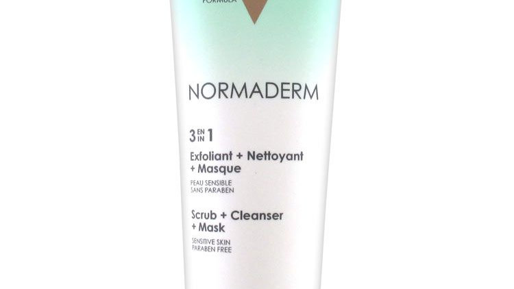 Vichy Normaderm 3in1 Scrub + Cleanser + Mask 125ml