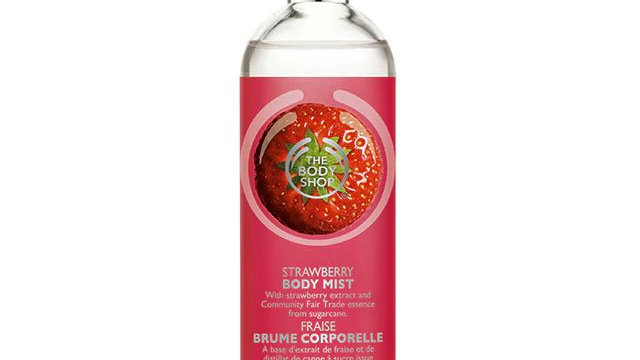 The Body Shop Strawberry Body Mist