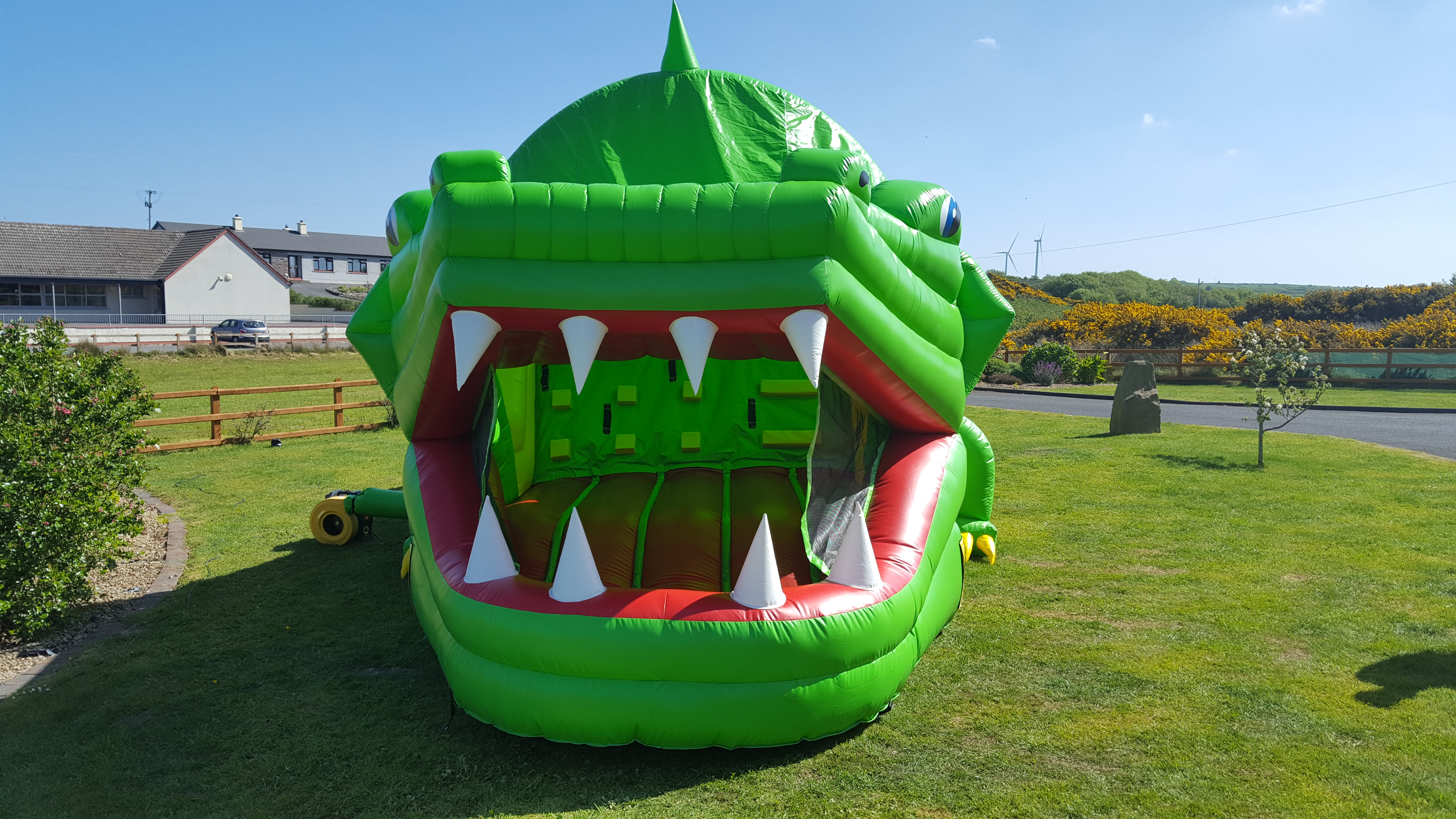 Crocodile Sligo Bouncy Castles Hire